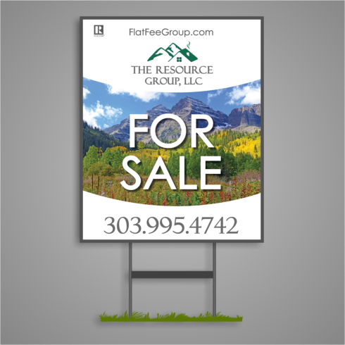 Colorado For Sale Sign
