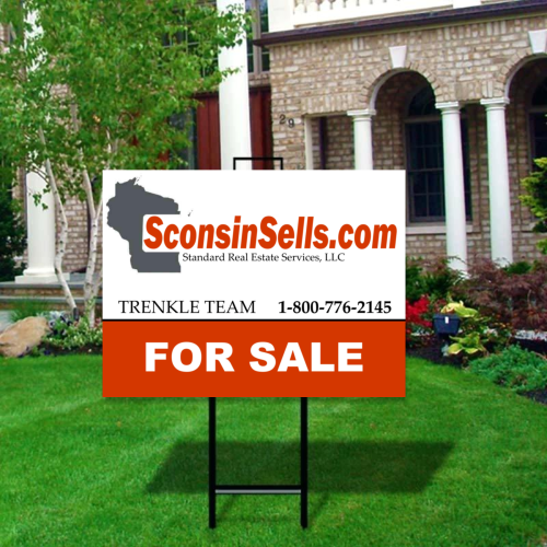 Wisconsin Real Estate Sign
