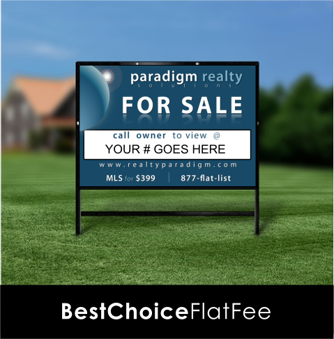 Indiana Real Estate Sign